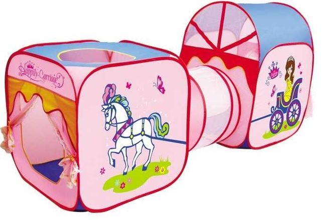 Namiot Domek Tunel Zestaw 3W1 Śliczny Dla Małej Księżniczki