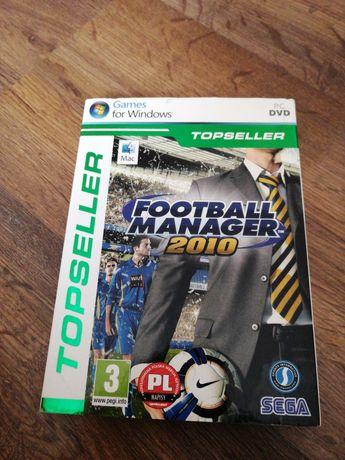 Gra komputerowa football manager 2010 PC
