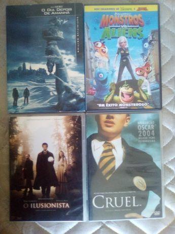 12 DVDs (2,00€/Unidade)