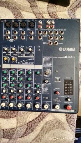 Продается микшерный пульт Yamaha MG82CX