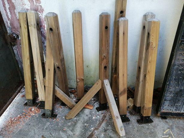 postes de esplanada