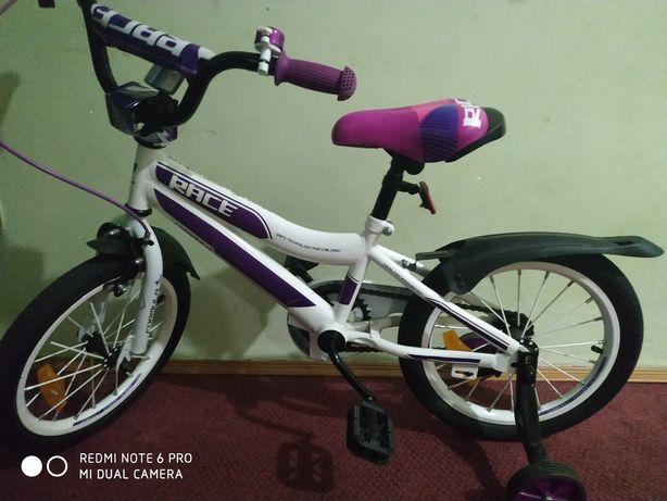 Велосипед для дівчинки срочно 1400