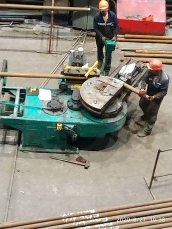 Трубогиб промышленный. Изготовление металлоконструкций.