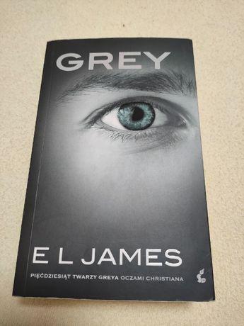 Grey E L James Pięćdziesiąt Twarzy Greya Oczami Christiana