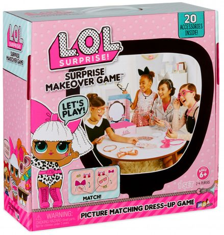 Розважальна гра игра L. O. L. лол Собери сюрприз MGA 556374