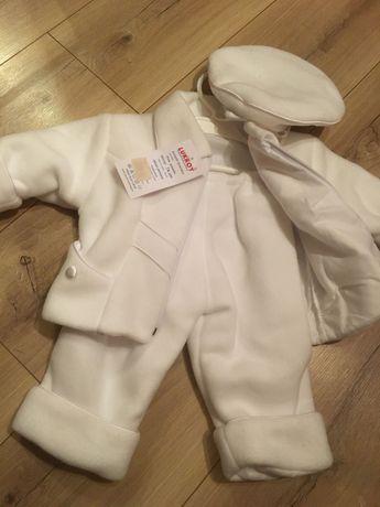 Ubranko dla chłopca do chrztu nowe