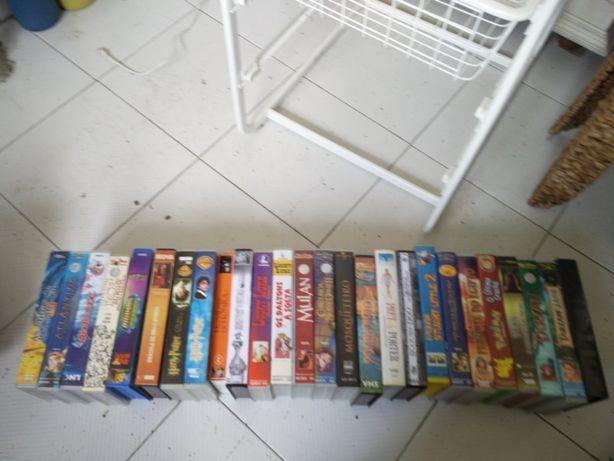 29 Cassetes VHS Disney e Clássicos do Cinema