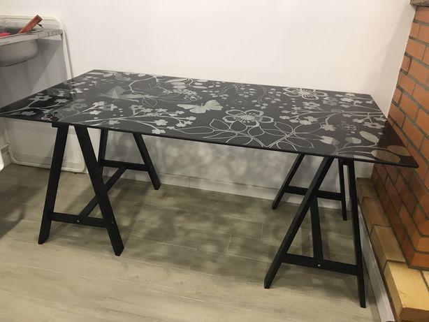 Secretaria vidro Ikea