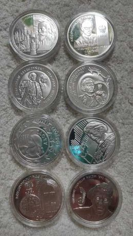 Monety 10 zł srebrne kolekcjonerskie