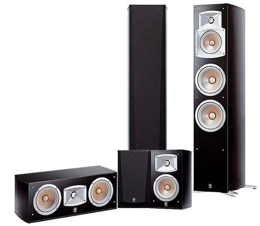 Zestaw kolumn 5.0 Yamaha NS-555, głośniki, kolumny