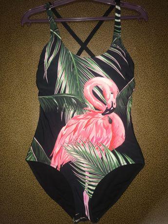 Купальник женский с фламинго