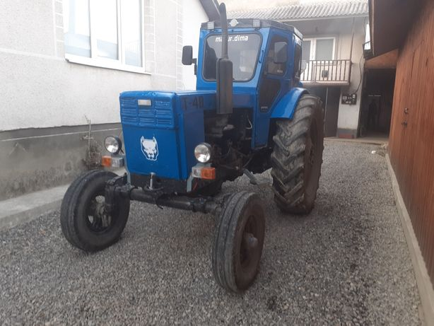 Трактор ЛТЗ Т-40М
