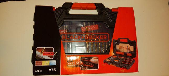 Zestaw bitów i wierteł Black&Decker