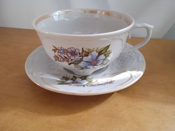 Чайная пара(чашка +блюдце)