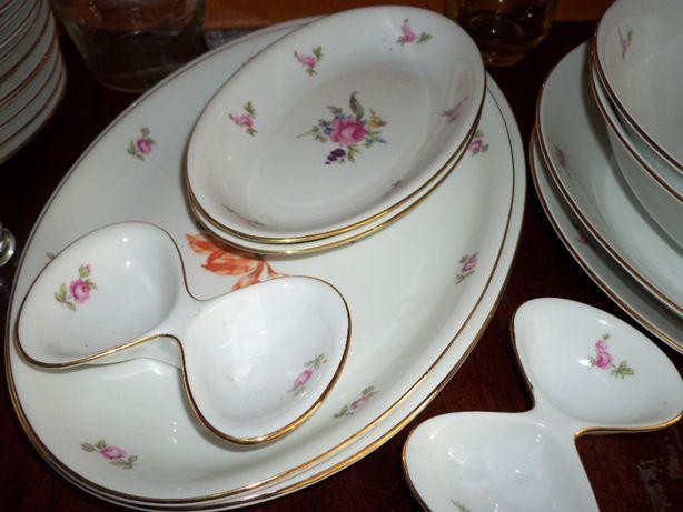 новый набор посуды столовый на 12 персон. Чехословакия bogemia
