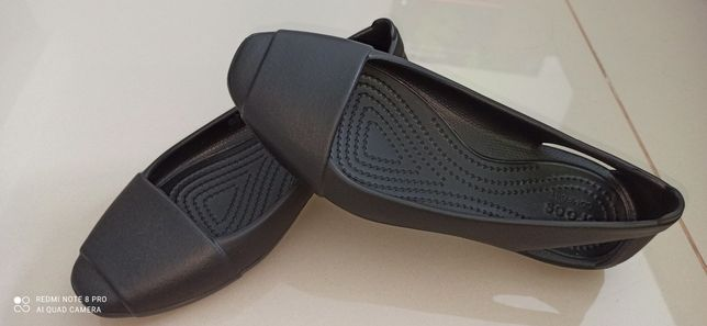 Crocs balerinki SIENNA flat czarne W 6( 36,5-37)
