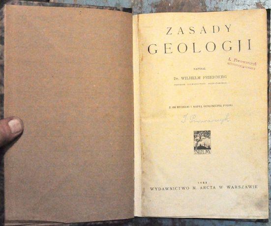 Zasady Geologji - Dr. Wilhelm Friedberg