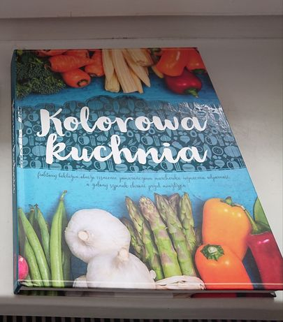 Książki kolorowa kuchnia tanio