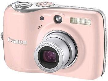 câmera fotográfica digital Canon Powershot E1 - cor de rosa