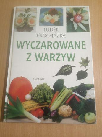 Książka wyczarowane z warzyw dekoracje z warzyw