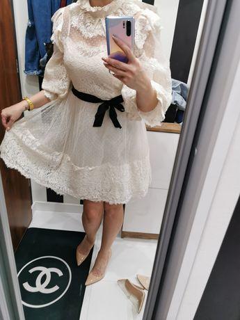 Nowa sukienka koronkowa jak lou  S