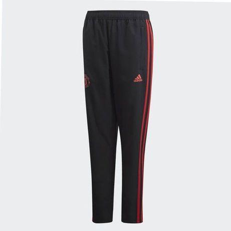 Штаны спортивные Adidas manchester united kids, размер 164 см