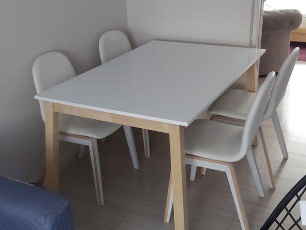 Stol i krzesła do kuchni jadalni i salonu