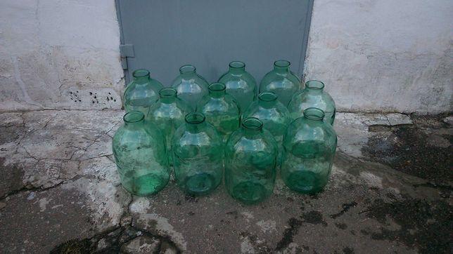 Продам 10л -толстостенные бутыля СССР