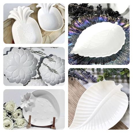 Блюдо сервировочная тарелка посуда фарфор