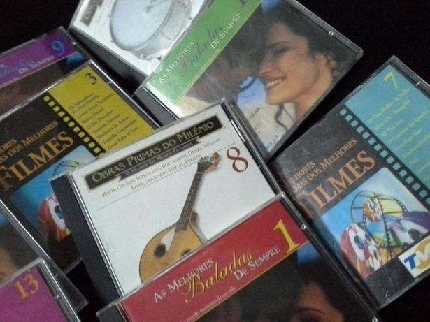 30 CD de Baladas, Música Clássica e Temas de Filmes