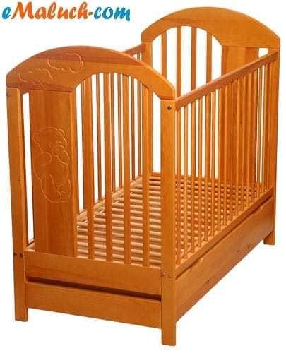 Łóżeczko Tymon z szufladą Dziedno - image 1