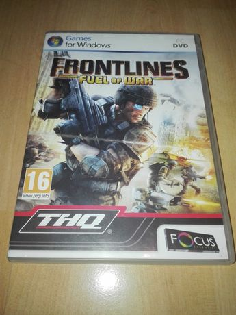 Frontlines Fuel at War Pc Dvd