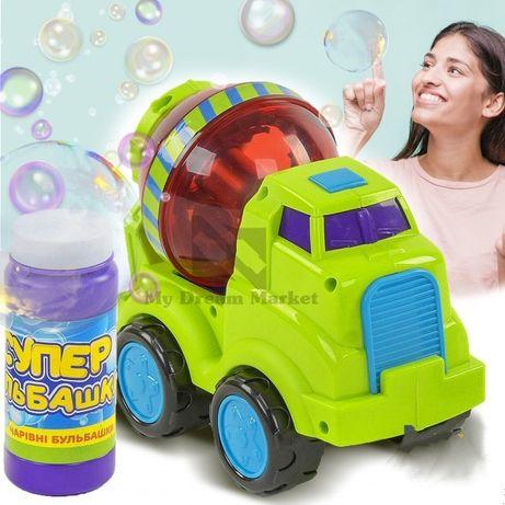 Машинка генератор мыльных пузырей, на батарейках
