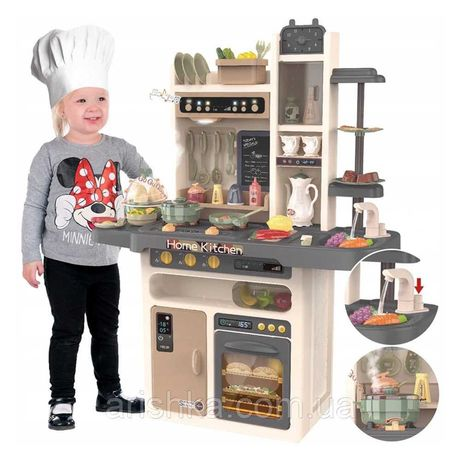 Детская игровая кухня Home Kitchen с водой (65 аксессуаров, высота 94)