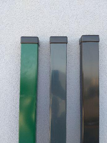 Słupek ogrodzeniowy profil 60x40x1,25mm pod panele
