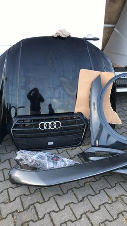 Капот Audi Q5 80a, правое крыло, гриль и др в наличии