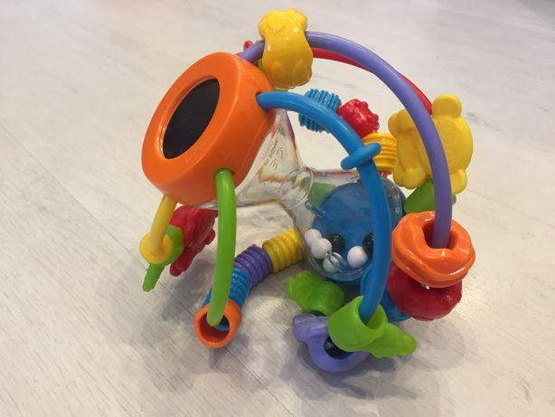 Развивающая игрушка погремушка мячик ТМ Playgro от 6 мес. до 1,5 г.