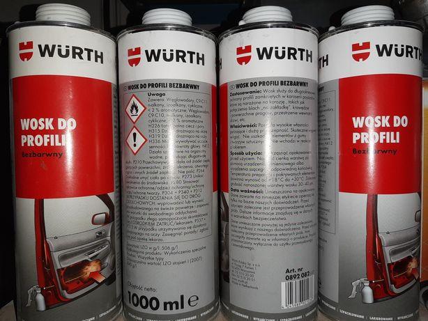 Wurth wosk do profili zamkniętych konserwacja podwozia progów drzwi