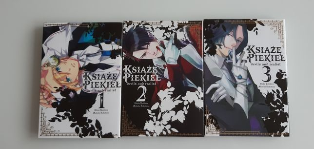 Manga/Mangi Książę Piekieł tomy 1 - 3