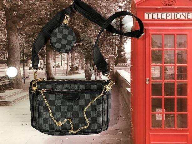 Сумка с ключницей двойная Louis Vuitton
