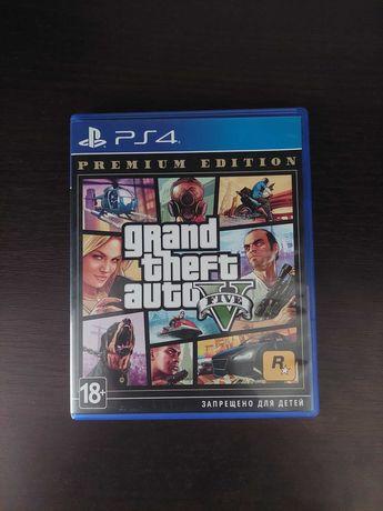 Диск GTA 5 для Playstation 4