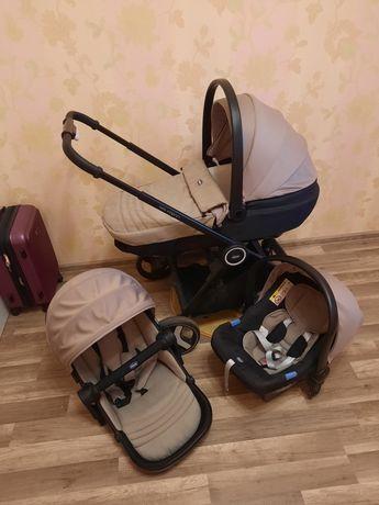 Продам коляску 3 в 1!!! Chicco Best friend comfort +