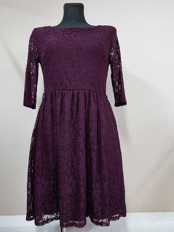 ATMOSPHERE r 38 sukienka wizytowa koronka