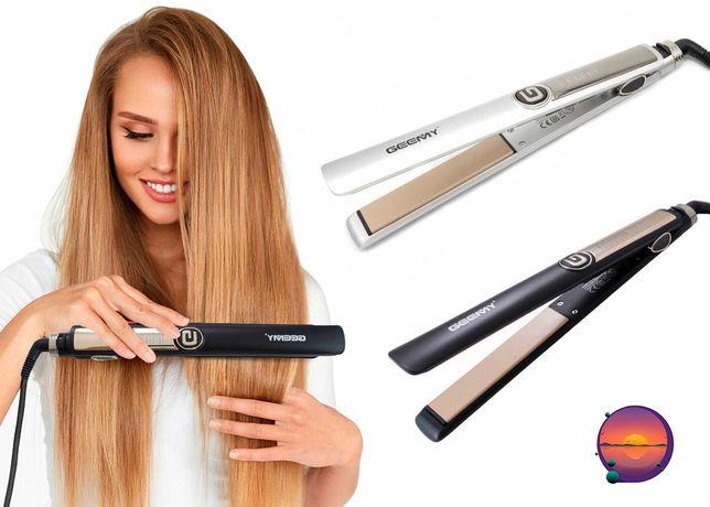 Плойка утюжок, для волос GEEMY GM-416, выпрямитель профессиональный
