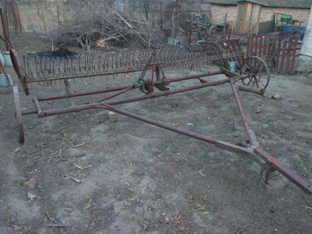 Грабли для сена к трактору