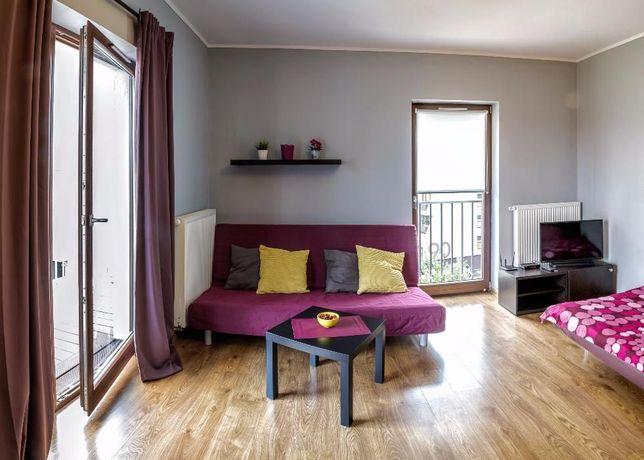 WOLNE TERMINY, NOWY apartament dla max 4os, balkon, parking, wi-fi
