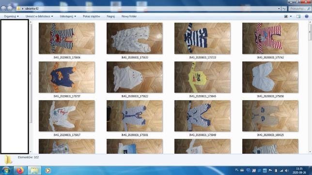 Ubranka 62 chłopięce. Body, pajace, spodnie i inne. Pajac pajacyk