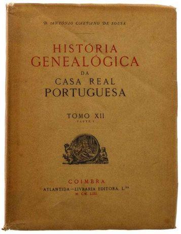 História Genealógica da Casa Real Portuguesa - tiragem especial