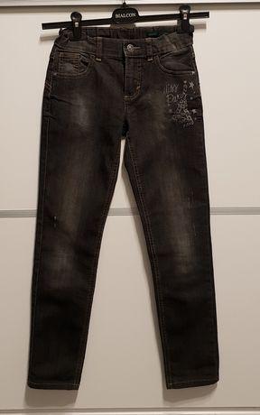 Jeansy, spodnie, Benetton, 150