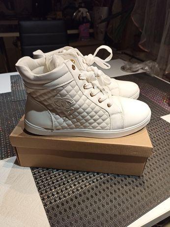 Sneakersy nowe białe 40